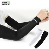 Cycling Arm Sleeves Ice Silk Leg Covers Quick dry UV Protection Compression Cool