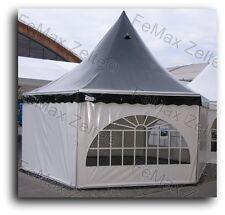 Festzelt Partyzelt Sektbar Loungezelt 6eck Pagode 41,5m² / Farbe nach Wahl