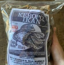 Keropok Ikan Tamban ( Salt Fish Cracker)