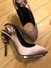 $ 1200 OSCAR de LA Renta  pink  platform heels shoes heels size 38/8,