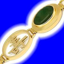 Natürliche Markenlose Armbänder mit Edelsteinen aus Gelbgold