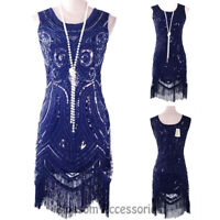 K159 Deluxe 1920 Flapper Dress Great Gatsby Charleston 20s Abbey Sequins Costume