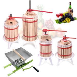 Obstpresse Weinpresse Saftpresse Maischepresse Obstmühle Spindelpressung 6 - 30L