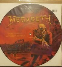 Megadeth**12'' Peace Sells**picture disc/ Lp**Original**Metallica*Slayer*Anthrax