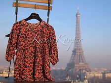NEW WITH TAGS LOUIS VUITTON STEPHEN SPROUSE LEOPARD RUNWAY CASHMERE SWEATER RARE