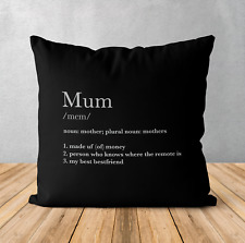 Personalised Cushion Pillow & Insert Present | Name Definition | Cute Gift