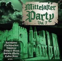 MITTELALTER PARTY VOL.7 VII CD 2015 Versengold OMNIA Saltatio Mortis