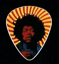 PSYCHEDELIC SUPER GROOVY JIMI HENDRIX GUITAR PICK