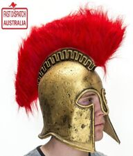 Mens Latex Roman Helmet Greek Perseus Fancy Dress Hat...CHEAP & FREE FREIGHT!!!1