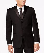 46L Black Chaps Tuxedo Jacket Grosgrain Satin Lapel Wedding Prom Cruise Mason