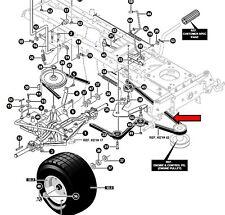 MURRAY 125/102  mower transmission drive belt HAMU94608 94608 MU94608 94608MA
