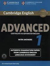 (15).CAMB.ENGLISH ADVANCED 1 (SB+KEY+AUDIO CD) REVISED EXAM