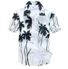 Herren Freizeit Hawaihemd Hawaii Aloha Shirt Hemd Strand Party Beach Shirts 2017