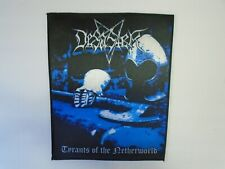 DESASTER TYRANTS OF THE NETHERWORLD SUBLIMATED BACK PATCH