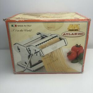 Marcato Pasta Maker, Pasta Machine, Atlas 150 Wellness, Made In Italy USED ONCE