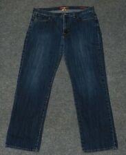 LUCKY BRAND 361 VINTAGE STRAIGHT JEAN Distressed Stretch Denim 38 x 32 jeans