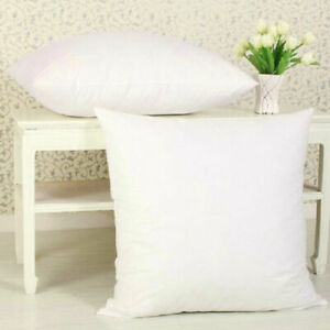 White Home PP Cotton Microfiber Cushion Scatter Insert Pads Filler Pillow Core