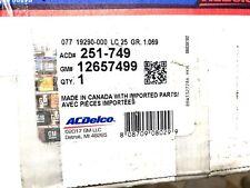 Engine Water Pump ACDelco GM Original Equipment 12657499 251749