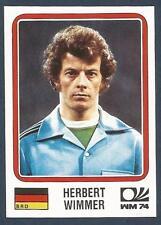 PANINI WORLD CUP STORY #070-MUNICH 74-DEUTCHSLAND-BRD-GERMANY-HERBERT WIMMER