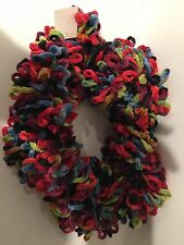 NEW NWT Colorful Chain  Loop Scarf FUN, Stretchy