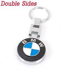 Metal Car double side Logo keyring keychain key chain pendant Key Holder for BMW