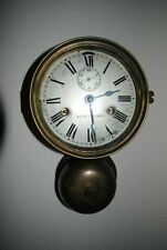 SETH THOMAS BRASS BOTTEM BELL SHIPS CLOCK