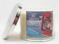 1 Bath & Body Works TOASTED S'MORES 3-Wick Scented Wax Candle 14.5 oz