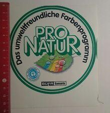 Aufkleber/Sticker: Büfa Baeuerle pro Natur (09111670)