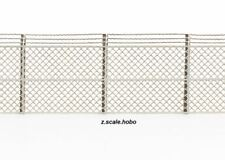 Archistories Z Scale 823171 Fences Barbed Wire Security Fence 14.4mm $0 SHIP