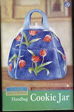 New Classic Solutions Handbag Cookie Jar blue floral