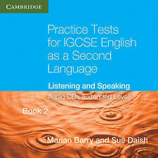 Practice Tests for IGCSE English as a Second Language Extended Level Book 2 Audi