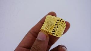 Mens  Custom Design Ring 10k Solid Gold Best Price Heavy 80 Grams