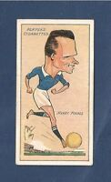 PORTSMOUTH FC  HARRY FOXALL  1927 caricature card Put motion in promotion