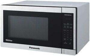 Panasonic NN-SC678S Stainless-steel Inverter Microwave