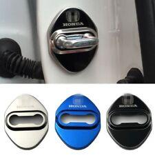 Door lock Striker Cover Door Striker Cover 4 PCS Stainless steel for HONDA new