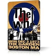 METAL TIN SIGN THE WHO Poster Concert #3 Classic Rock Vintage Retro Decor Home