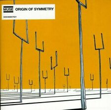 MUSE ORIGIN OF SYMMETRY CD