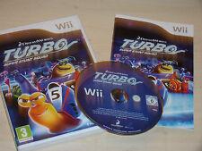 NINTENDO Wii jeu TURBO SUPER Stunt Squad + boîte instructi's Complete PAL Gwo