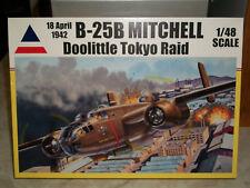 Accurate Miniatures 1/48 B-25B mitchell, Doolittle Tokyo Raid + Eduard Details