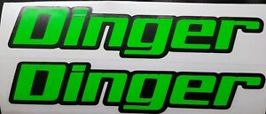 HELMET+MOTORCYCLE  NAME STICKERS DECALS 2 COLOUR TRACK ROAD FLUORESCENT GREEN/YE