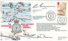 Rare Reflown RFDC85d150th Anniv of Thomas Hardy Signed ACM Sir John Thomson