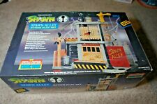 Spawn Alley Action Play Set 1994 w/ Special Ed. Comic. New In Box Todd McFarlane