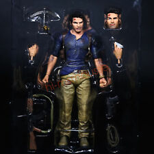 """NECA Nathan Drake Uncharted 4 Ultimate 7"""" Action Figure Collection 1:12 No Box"""
