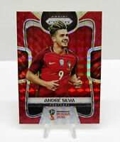2018 Panini Prizm World Cup Soccer Red Mosaic Andre Silva Portugal #155