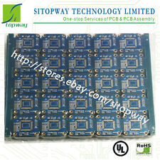 Low cost Good Quality PCB Board Manufacture Etching 1-8Layer Blue Soldermask