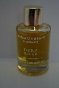 Aromatherapy Associates London Deep Relax bath & shower oil travel size 9ml