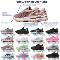 Asics Gel-Nimbus 22 Underpronation / Neutral Womens Road Running Shoes Pick 1