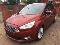 2017 (17) FORD C-MAX TITANIUM 1.0 ECOBOOST MANUAL DAMAGED SALVAGE