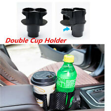 1Pcs Multi Double Cup Holder Drinking Bottle Holder For Car Interior Accessories