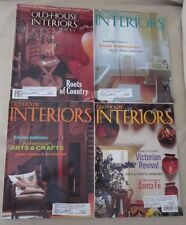 Old House Interiors Back Issues Magazines Lot 4 Entire Year 1997 DIY Remodeling